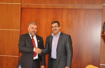 إجتماع السيد وزير التخطيط مع سفير دولة تونس الشقيقة